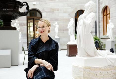 Museohistoriaa tutkinut Susanna Pettersson johtaa Nationalmuseumia Ruotsissa.