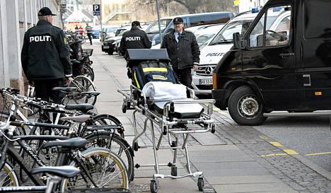 Kööpenhaminan poliisiaseman panttivankitilanne ei johtanut henkilövahinkoihin.