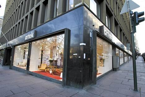 Artekin myymälä Helsingin Esplanadilla.