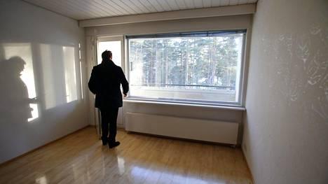 Vanhojen asuntojen hinnat olivat laskussa alkuvuonna.
