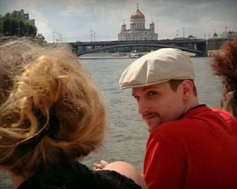 Edward Snowden risteili syyskuussa Moskvajoella Moskovassa.