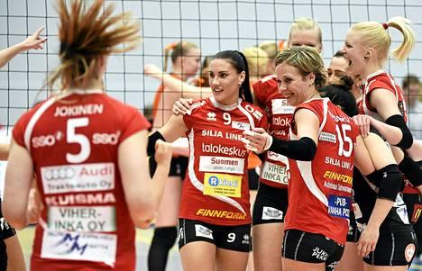 LP Viesti voitti lentopallon Suomen cupin 4. tammikuuta.