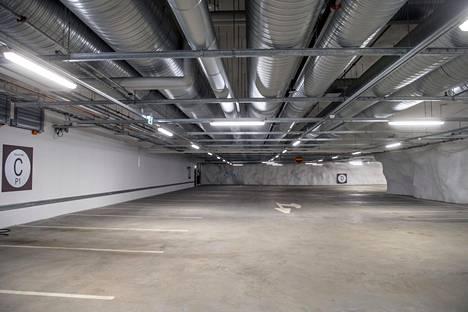 P-Töölössä on yli 810 pysäköintipaikkaa.