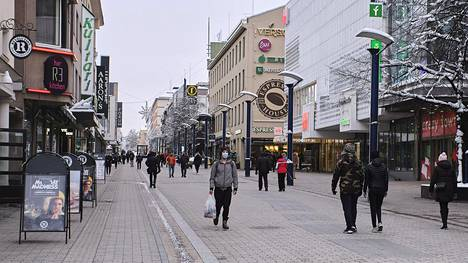 Jyväskylä siirtyi viikonloppuna koronavirusepidemian leviämisvaiheeseen.