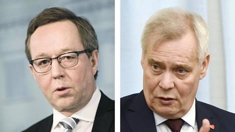 Mika Lintilä ja Antti Rinne
