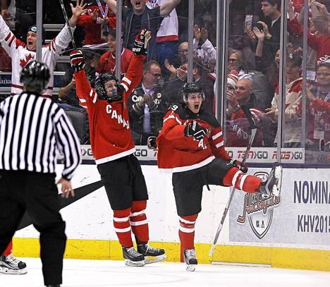Slovakian 5-1 voittanut Kanada saa finaalissa vastaansa Venäjän.