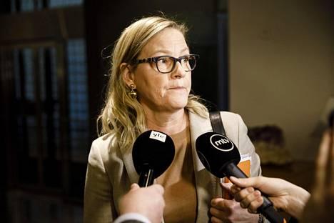 Ruotsalainen kansanpuolue (rkp) nimesi Eva Biaudet'n yksimielisesti pormestariehdokkaakseen.