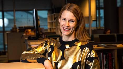 Aino Miikkulainen, 38, on Helsingin Sanomien kulttuuritoimituksen uusi esimies.
