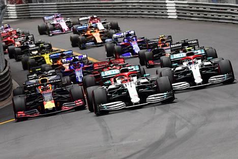 Koska formulakausi jatkuu? Kuva on viime kauden Monacon osakilpailusta.