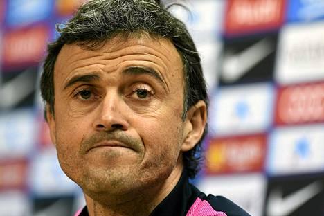 Luis Enriquen asema Barcelonan päävalmentajana on epävakaa.