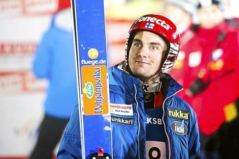 Anssi Koivuranta oli seitsemäs maailmancupin kisassa Norjassa.
