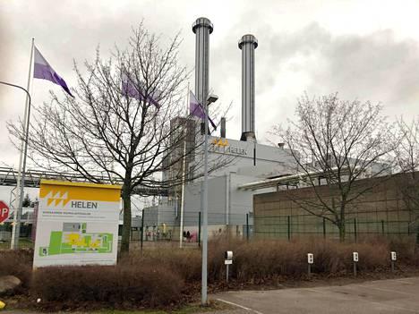 Vuosaaren voimalakortteli sijaitsee Vuosaaren sataman läheisyydessä Käärmeniementiellä.