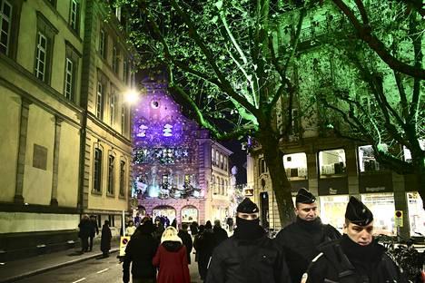 Strasbourgin joulutori viime tiistaina.
