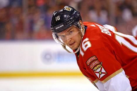 Florida Panthersin Aleksander Barkov teki yhden maalin ja kuittasi toisesta syöttöpisteen.