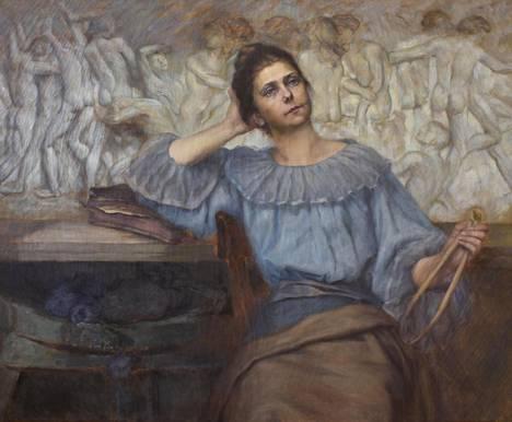 Ida A. Fielitzin muotokuva taiteilija Sigrid af Forsellesista, ajoittamaton.