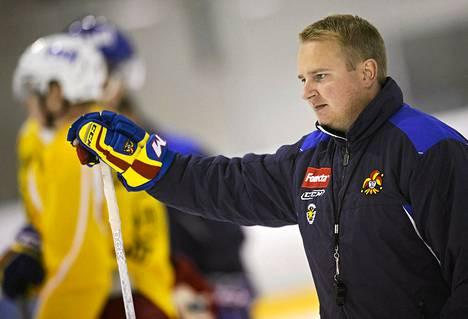 Vielä joulukuussa Tomi Lämsä valmensi Helsingin Jokereita.
