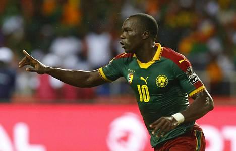 Vincent Aboubakar teki Kamerunille maalin 89. peliminuutilla.