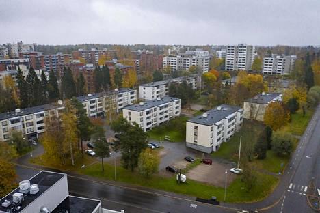 Mellunmäkeen aiotaan rakentaa korkeampia taloja vanhojen matalien talojen tilalle Ounasvaarantien ja Pallaksentien väliselle alueelle.