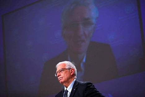 Euroopan unionin ulkopolitiikan korkea edustaja Josep Borrell 30. maaliskuuta kuvattuna.