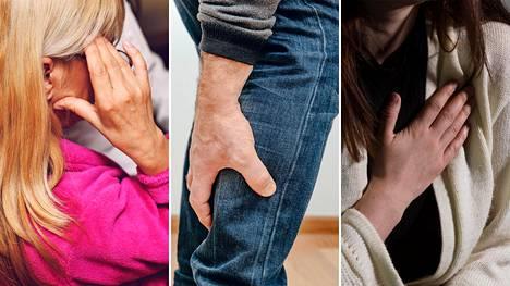 Valtimotauti syntyy pikku hiljaa, kun verisuonen sisäpinta alkaa ahtautua. Kun yli puolet suonesta on tukossa, alkavat oireet.