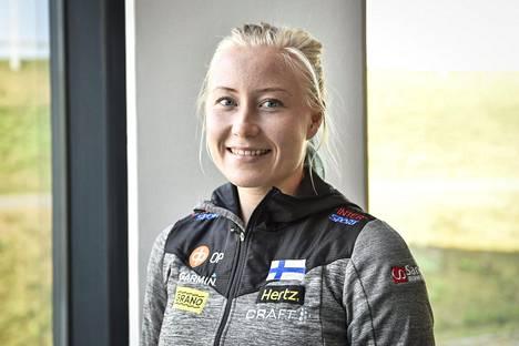Anna Närhi kilpailee MM-kisoissa kolmella matkalla.