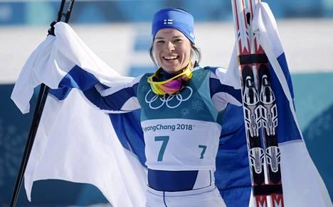 Krista Pärmäkoski toi puolet Suomen kuudesta olympiamitalista.