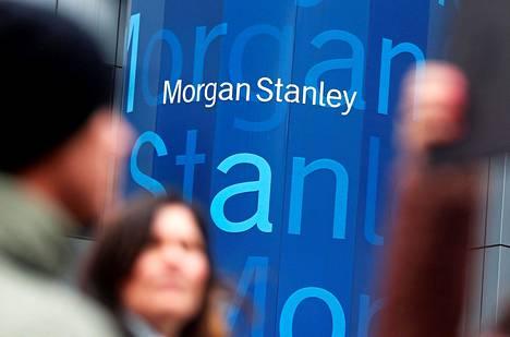 Amerikkalaispankki Morgan Stanleyn pääkonttori New Yorkissa.