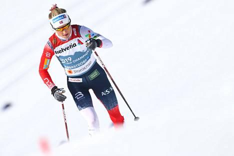 Therese Johaug on hakenut vinkkiä perinteisen hiihtotavan tekniikkaansa muun muassa Iivo Niskaselta.