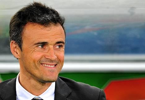 Luis Enrique on Barcelonan uusi päävalmentaja.