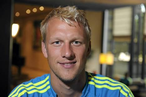 Mathias Lindström on Klubin miehiä.
