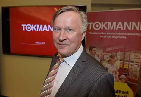 Tokmannin toimitusjohtaja Heikki Väänänen
