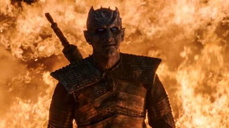 Game of Thronesin viimeisen kauden kolmannessa jaksossa käytiin taistelu Talvivaarasta. Kuvassa Yön kuningas (Vladimír Furdík).
