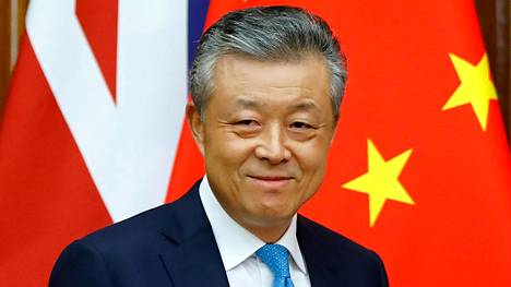 Kiinan suurlähettiläs Liu Xiaoming Britanniassa helmikuussa 2020.