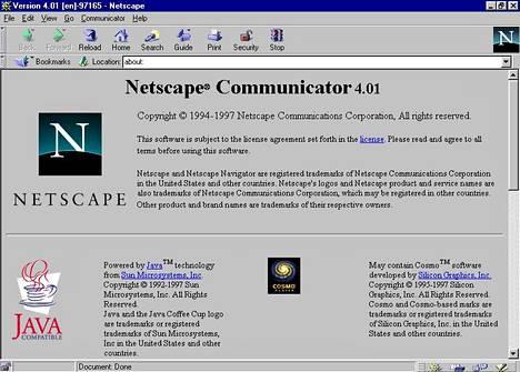 Britannian hallituksen julkaisemassa versiossa sivulla 921 ja Euroopan komission julkaisemassa versiossa sivulla 931 mainitaan esimerkiksi Netscape Communicator 4 -verkkoselain ja Mozilla Mail -sähköpostiohjelma.