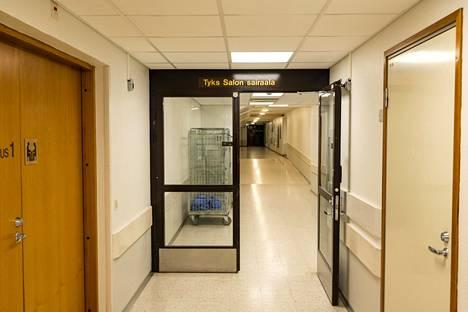 Salon sairaalan potilaan epäillään joutuneen henkirikoksen uhriksi vuonna 2017.
