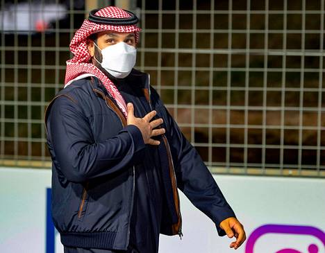 Kruununprinssi Mohammed bin Salman kuvattuna 27. helmikuuta.