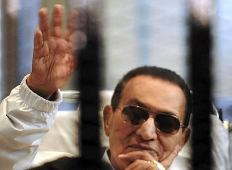 Egyptin entinen presidentti Hosni Mubarak.