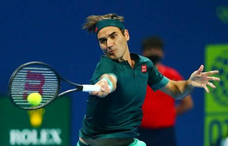 Roger Federerin turnaus Qatarin Dohassa päättyi toisen kierroksen tappioon.