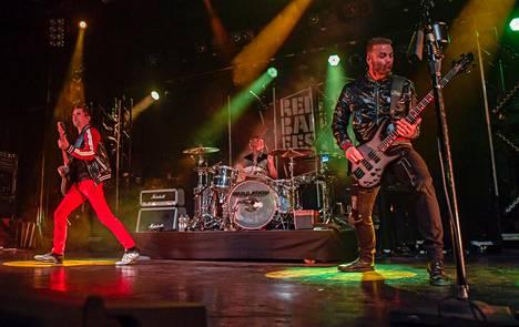 Muse esiintyi syyskuussa Hampurissa.
