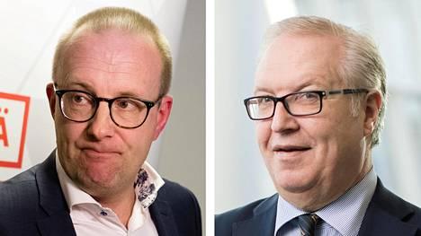 SAK:n puheenjohtaja Jarkko Eloranta ja Akavan puheenjohtaja Sture Fjäder ovat saamassa jatkokaudet.