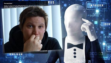 Benjamin Särkkä järjestää Disobey-tapahtumaa, jonka verkkosivuja hallitsee naamiomies.