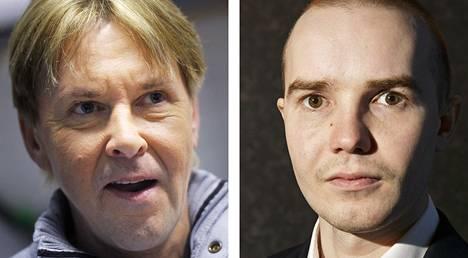 Matti Nykänen ja Harri Olli