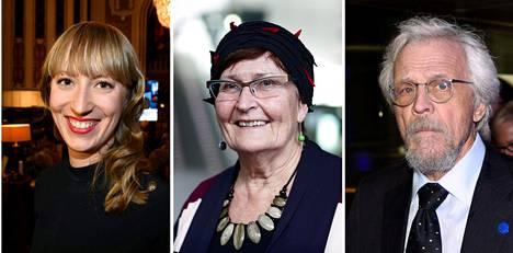 Eveliina Heinäluoma, Maija Anttila ja Pentti Arajärvi äänestivät keskiviikkona paperittomien terveyspalveluiden laajentamista vastaan.