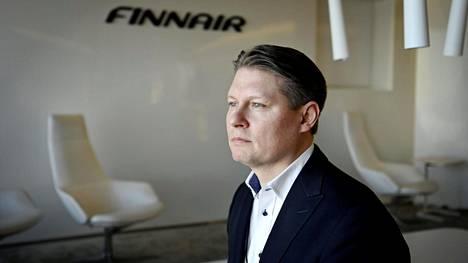 Topi Manner on ollut Finnairin toimitusjohtaja vuoden 2019 alusta alkaen.