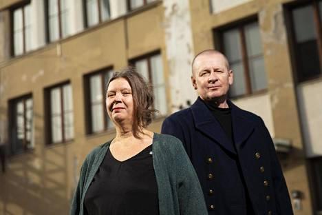 Annika Tudeer ja Timo Fredriksson ovat Oblivia-ryhmän perustajajäseniä.