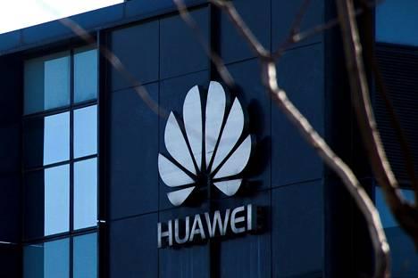 Huawein toimisto Pekingissä Kiinassa torstaina.