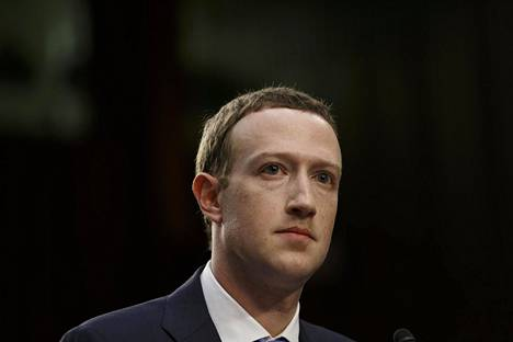 Facebookin johtaja Mark Zuckerberg huhtikuussa Washingtonissa.