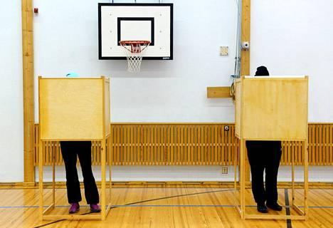 Eduskuntavaalien varsinainen vaalipäivä on sunnuntai.