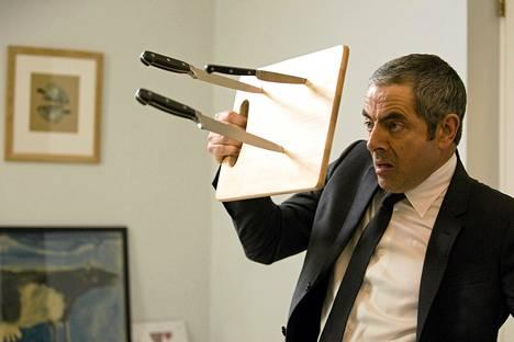 Rowan Atkinson näyttelee agenttia elokuvassa Johnny English - Uudestisyntynyt.