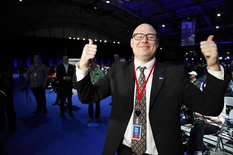 Espoolainen Simo Grönroos valittiin perussuomalaisten uudeksi puoluesihteeriksi.